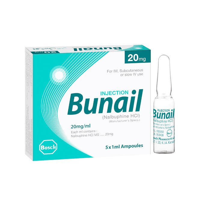 Bunail 20mg per ml Injection